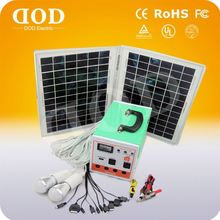 Portable Energy Storage Solar Power System For Home&indoor Lighting With Quality Solar Panel 12v/24v solar power system