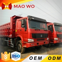 Used Howo 10 Wheel Capacity Dump Truck For Sale in Dubai