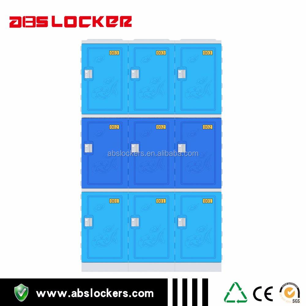 Durable abs locker cabinet with locks for sale