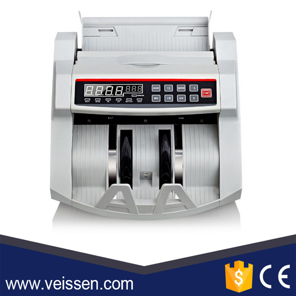 Professional mixed denomination money counter machine for USD/JPY/EUR/GBP