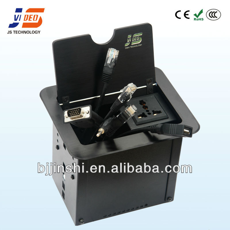 power and data solution cable cubby