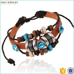 Jewelry Handmade China Woven Friendship Bracelets Exquise Crystal Bracelet