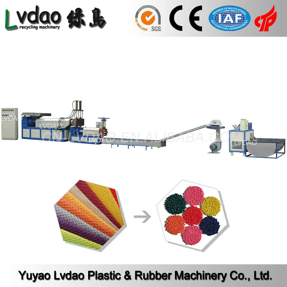 High automatic pp pe film washing and recycling machine