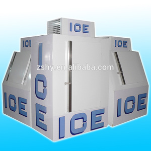 120 bags ice storing ice merchandiser outdoor use