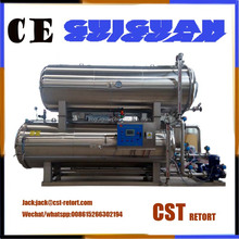 Can tinplate food bag autoclave machine price