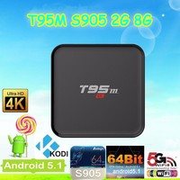 Google tv box T95 Smart Google android 5.1 tv box 1g 8g amlogic S905 Smart TV Box
