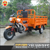 AOTISI factory wholesale cheap 250cc adult cargo petrol tricycle
