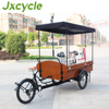 New ice cream or coffee tricycle Electric cargo Tricycle