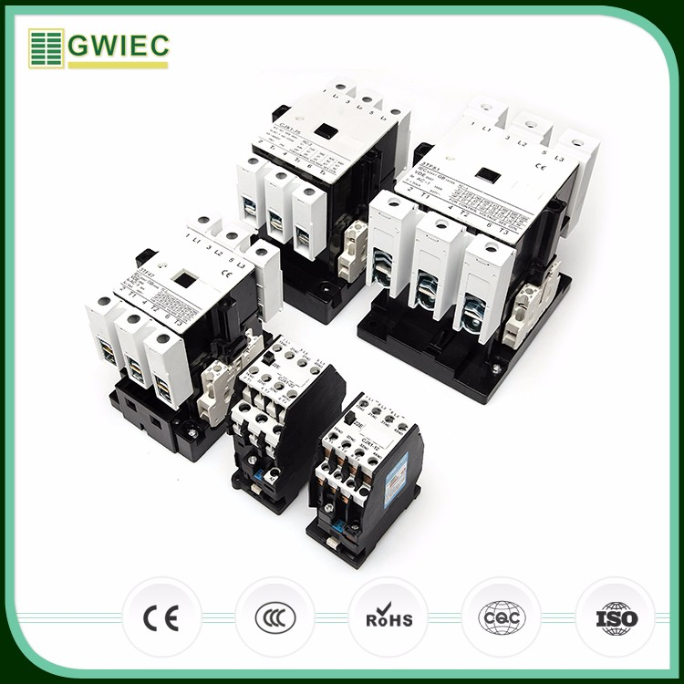 gwiec hight quality products 3 pole electric contactors cjx1 magnetic ac contactor view cjx1