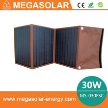 2013 hot sale 30W solar panel bag for your iphone 4, ipad, cellphone, laptop-Model: MS-030FSC