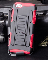 Robot Hybrid Hard Combo Case for MOTO X+1 / X2 with Kickstand