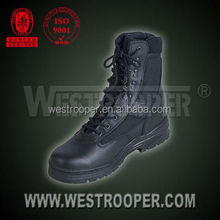 GENUINE LEATHER BOOTS Security tactical boots