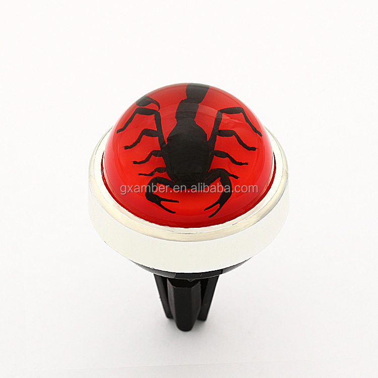 Customized Long Lasting Scented scorpion Car Vent Clip