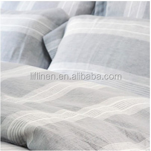 Wide width linen for bed
