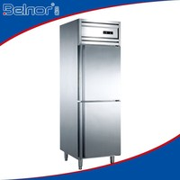 Latest model 500L under table stainless steel for kitchen freezer