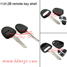 Factory price auto key cover 2 buttons no logo for Mitsubishi remote key control