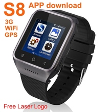 NEW Portable wireless Android 3G WIFi gps watch compare