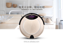 Hot Wholesale Smart Home Auto Rechargeable Robot Vacuum Cleaner 2016