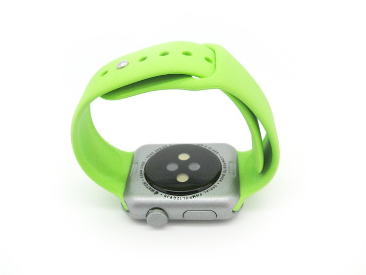 Creative design can custom logo popular silicone colorful watch belt