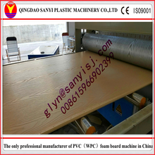 pvc wpc foam board cabinet making machinery/door making machine