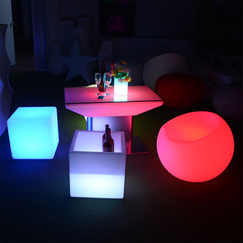 party chairs and tables living room home outdoor led furniture set sectional sofas chair table with lighting
