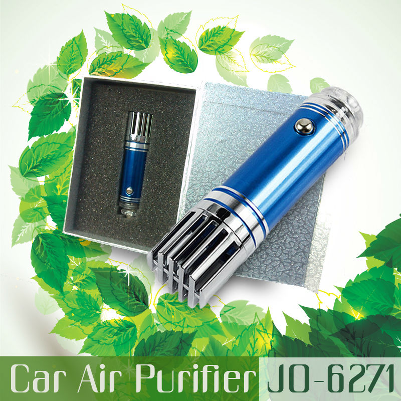Innovative New Car Accessories Products For Purification (Mini Car Air Purifier Ionizer JO-6271)