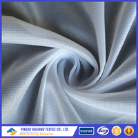 100% polyester tricot inner lining fabric