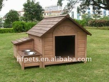 good quality wooden dog house dog cage