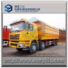 100 tons Max loading Shacman dumper tipping truck 8x4 tipper 380 hp heavy duty truck