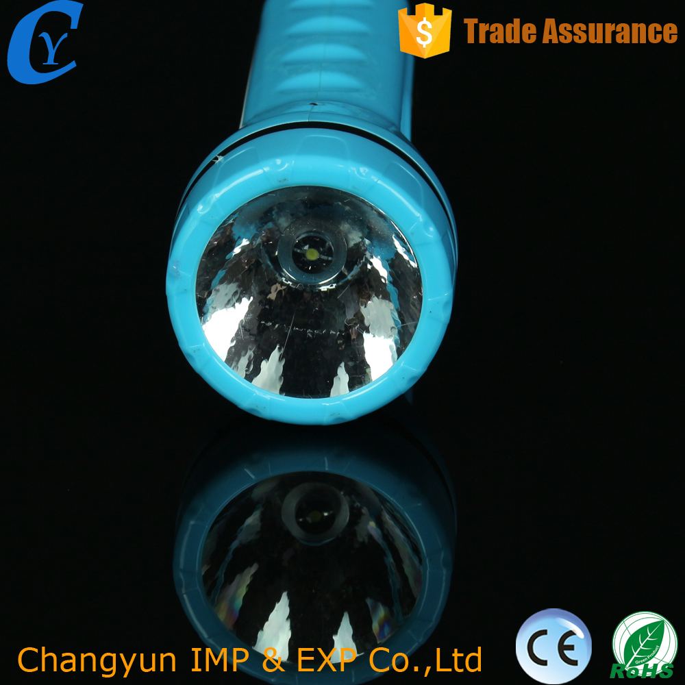 Powerful Solar Led Torch Flashlight Electronic Plastic Flashlight New Arrival