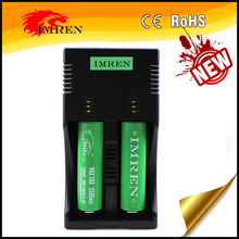 OEM/ODM 18650 2 bay led aa aaa d c battery charger cheapest price from IMREN PK Nitecore i2