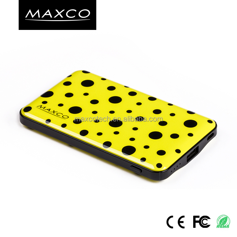 MAXCO Fancy 6000mAh Emergency portable power charger