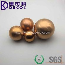 High Polished Shiny Reflect C11000 Solid Pure Copper Steel Ball