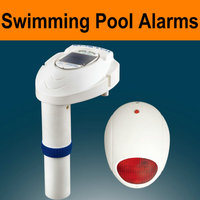 Solar Swimming pool alarm,detect child from drown