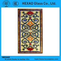 HEXAD architectural stained glass