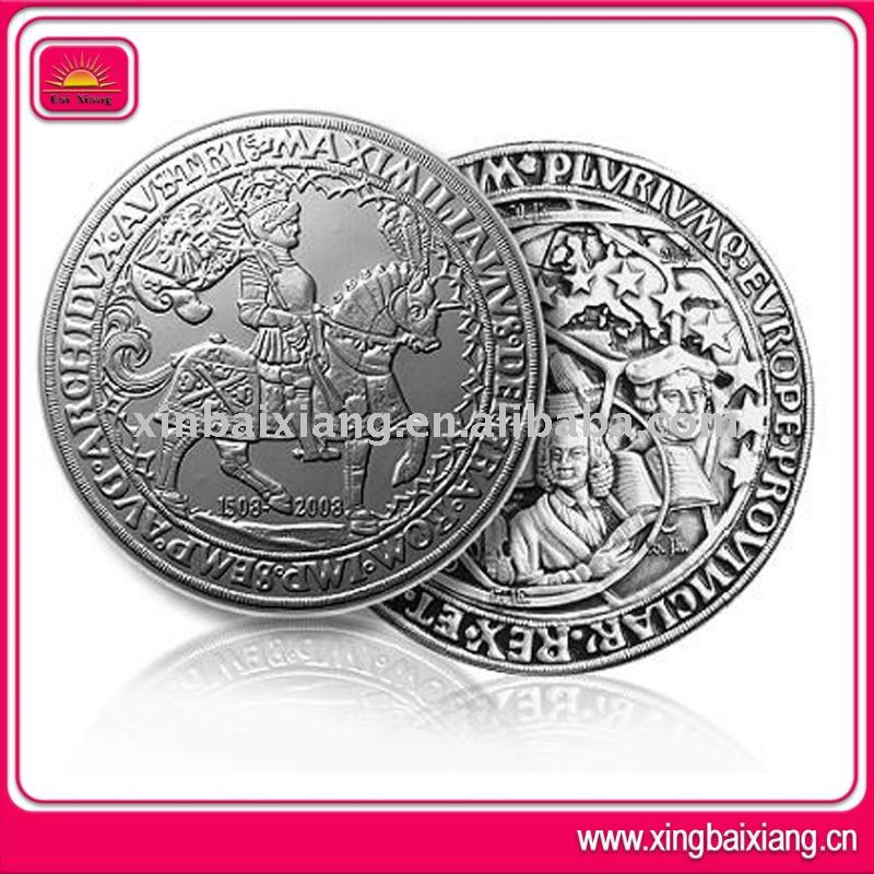 New design custom sorvenir religious silver coins for sale