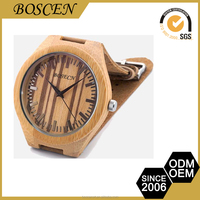 fashion wooden 3atm waterproof watches