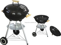 top supplier hongxuan manufacturer Outdoor camping apple shaped portable charcoal rotary bbq grill