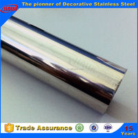 JIS,AISI,ASTM,GB,DIN,EN,ISO Standard and 300 Series Steel Grade chrome plated stainless steel tubes for bending