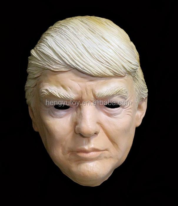 Nouveau Donald Trump Masque D'halloween Milliardaire Présidentielle Costume En Latex