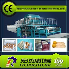 Clear plastic waste paper plastic egg tray making machine