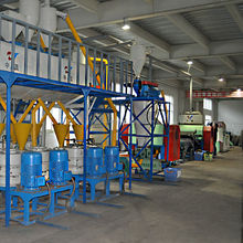 Popular CE & ISO Certificated Waste Tire Recycling Plant Rubber Powder Production Line