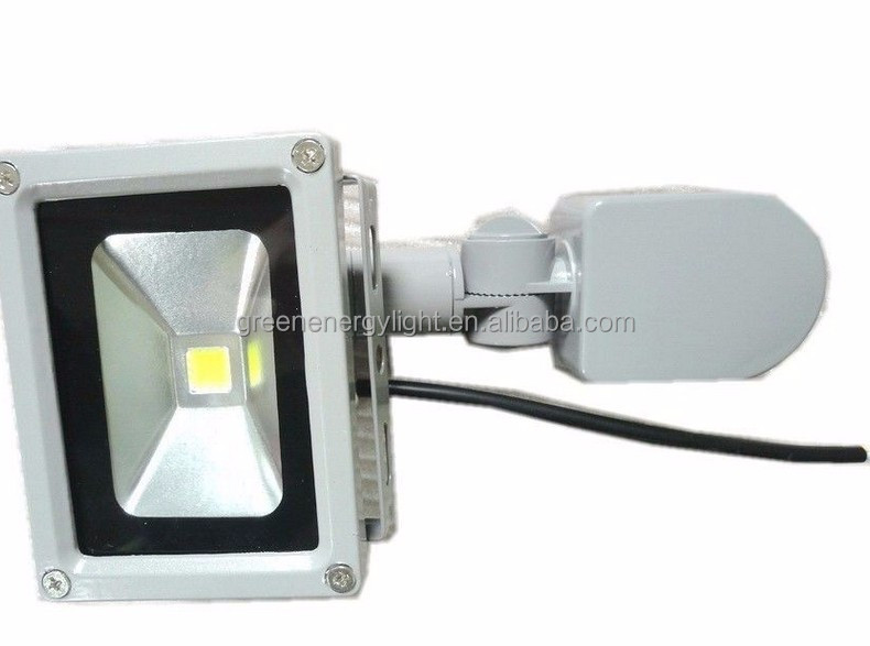 pir motion sensor flood light security pure white led outdoor lighting. Black Bedroom Furniture Sets. Home Design Ideas