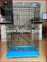Easy Clean And PVC Coated Pet Cat Cages Wholesale