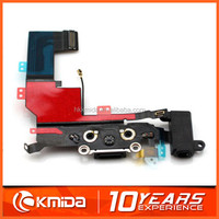 For iPhone 5s connector charger flex cable, charger port dock connector replacement