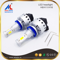Factory Sale Super Bright 7P 45W 6000lm COB Car LED Headlight Bulbs H8 H11 H16 45W 12V 8000lm COB H7 LED Light Bulbs H11 H3 9006