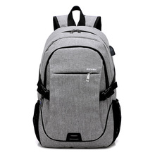 Multi-compartment travel 17.3 Inch laptop backpack with USB charging port