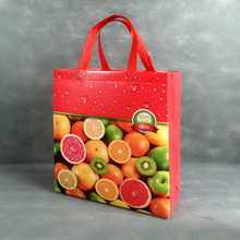Cheap eco friendly ultrasonic laminated shopping tote pp non woven bag