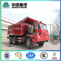 61 - 70 Capacity Manual Transmission Type Mining Dump Trucks for sale