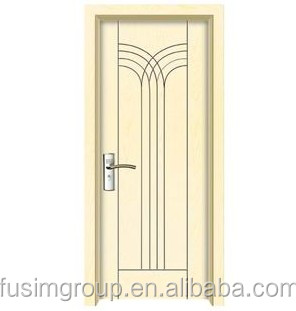 Interior PVC door for bathroom/kitchen